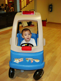 Zoe Joy Driving her First Car