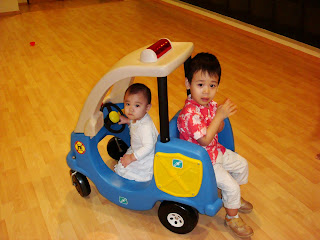 Zoe Joy and Nathanael Driving Car