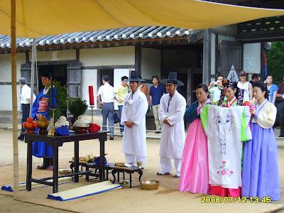 Justice  Peace Wedding Ceremony on Korean Wedding Ceremony