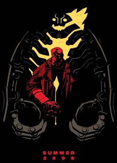 Hellboy 2 in 2008 - Teaser Poster