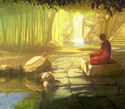 Meditation de Goro Fujita