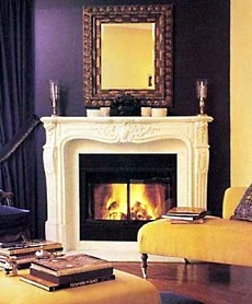 Corner Gas Fireplace Design