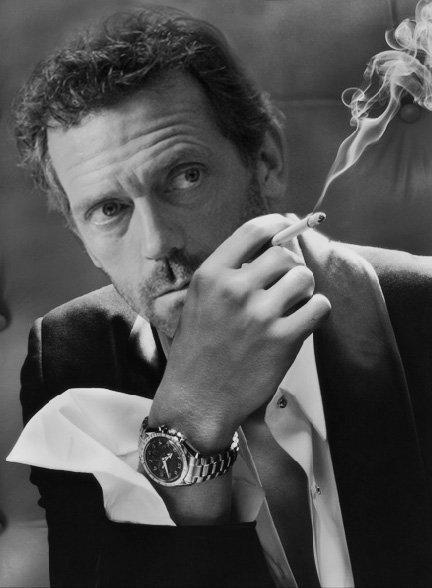 Hot Men In Suits Smoking Cigs: Hugh Laurie