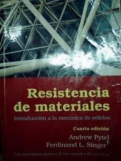 Resistencia de materiales singer solucionario