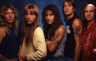 1985 Band line up   ross Halfin Best Iron Maiden Songs