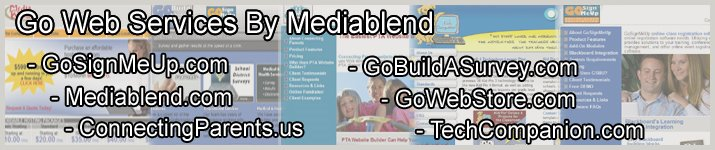 Go Web Services - Media Blend Web Design and Hosting