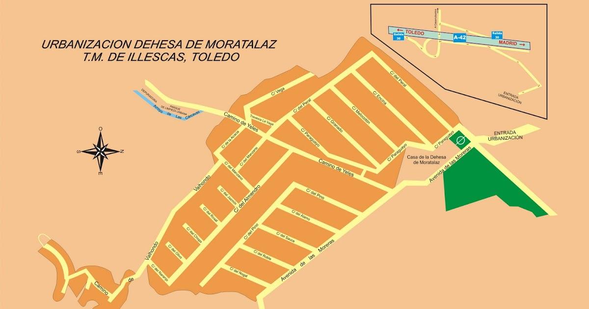 D e h e s a d e m o r a t a l a z plano de la urbanizacion for Oficinas tourline