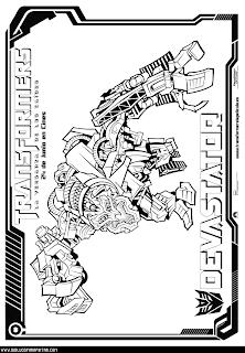 devastator transformer coloring pages - photo#9