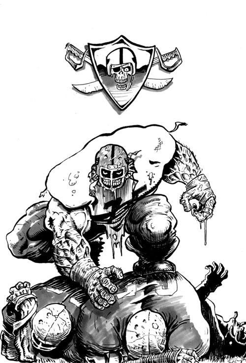 Oakland raiders coloring pages logo ~ Oakland Raiders Logo Coloring Pages Sketch Coloring Page