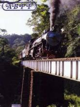 Rio Negrinho tren a vapor
