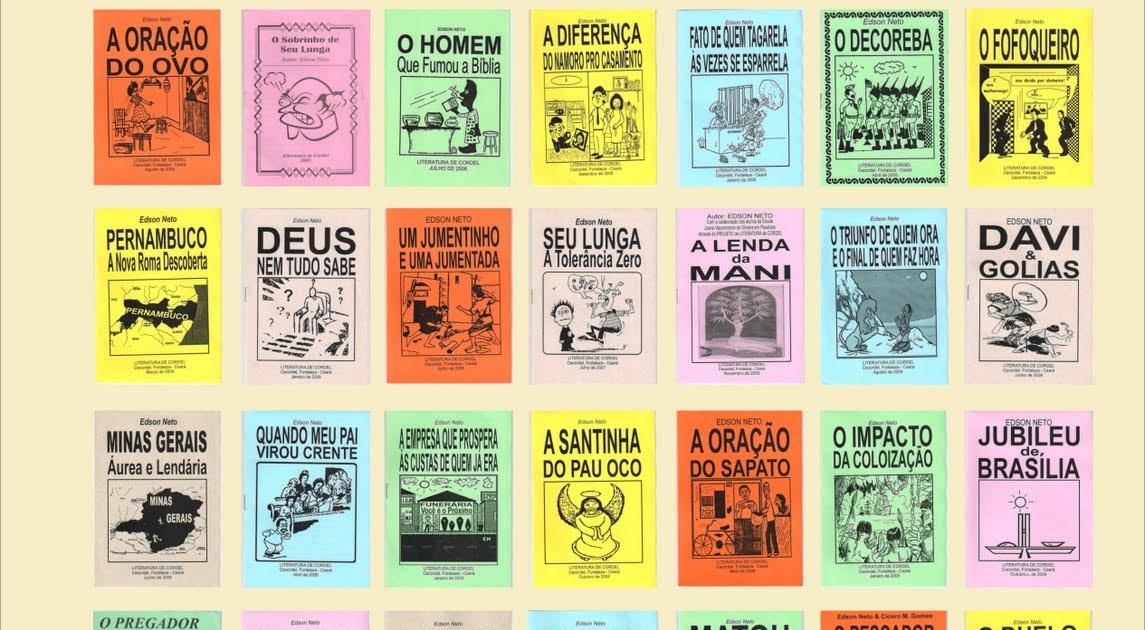 Blog Dos CordÉis: Cordel Do Edson: Capas Dos Cordéis