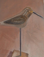 #9 1-hour oil, wooden bird