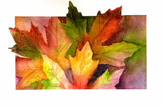 Autumn Leaves ~ Nancy Van Blaricom