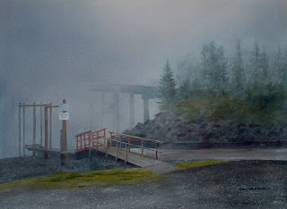 Foggy Island Bridge-Nancy Van Blaricom