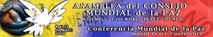 Caracas Capital Mundial de la Paz