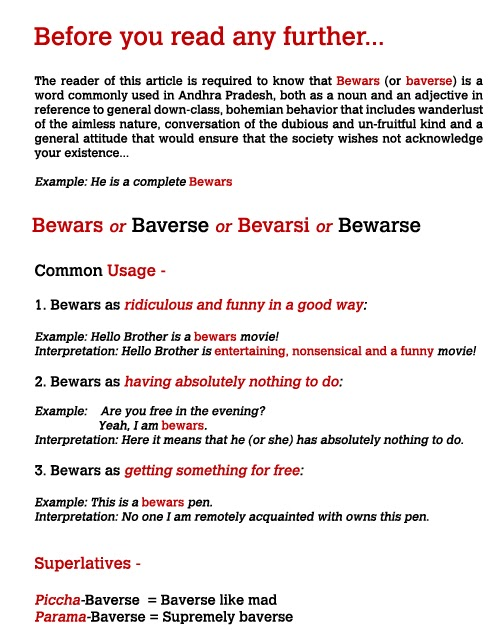 gtoosphere: Baverse/ Bewars - A complete History and
