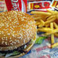 picture of burger and fries