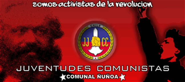 juventudes comunistas de chile, comunal Ñuñoa.