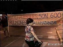 ¡NO A LA TALA DE ARBOLES EN AVENIDA GRECIA!