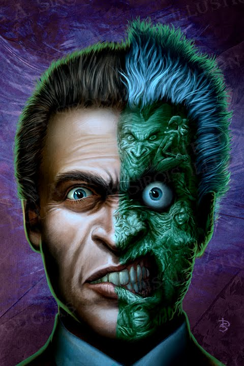 DAS ILLUSTRATION: Two Face