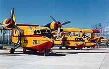 Le Bombardier d'eau, Canadair.