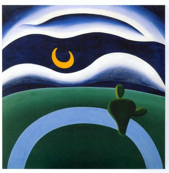 A Lua de Tarsila do Amaral
