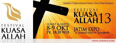 Pertama Kali Ke FKA-Festival Kuasa Allah