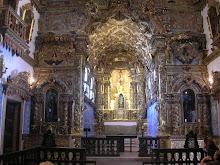 Capela Mor da Igreja da Ordem Terceira de N. Srª do Carmo (s. XVIII) - Cachoeira - BA