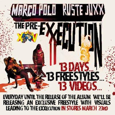 Marco Polo & Ruste Juxx - The Pre-eXXecution Freestyles (Part 1 of 3)