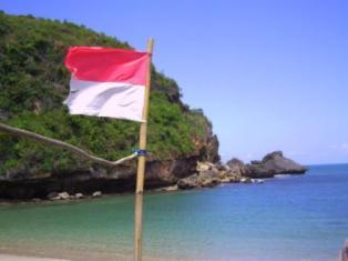 """Semangatku satu, untukmu Indonesiaku…!"""