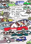 Demasiado tránsito_tráfico en la Ciudad
