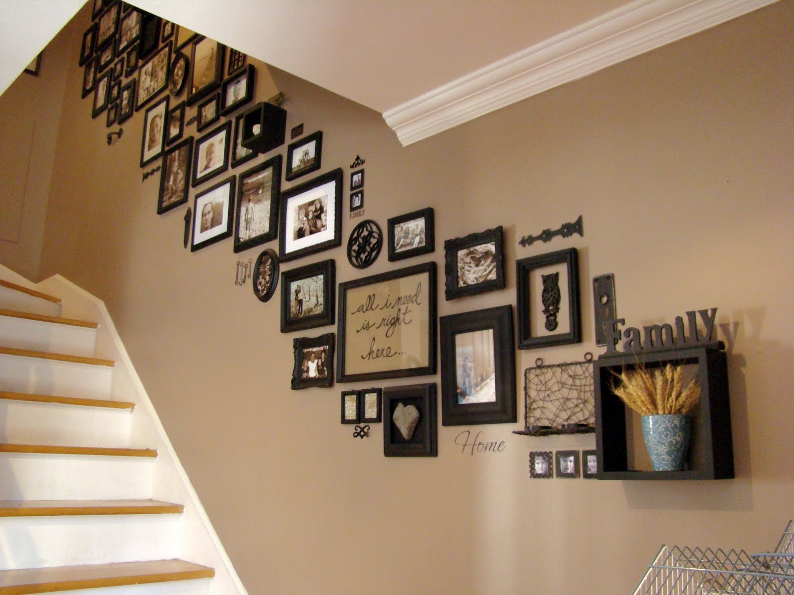 How should I place my photo frames? PIC NOW ADDED! - The ...