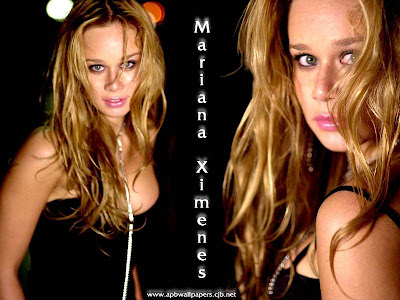 Mariana ximenes43 Mariana Ximenes Nua de Coelhinha da Playboy
