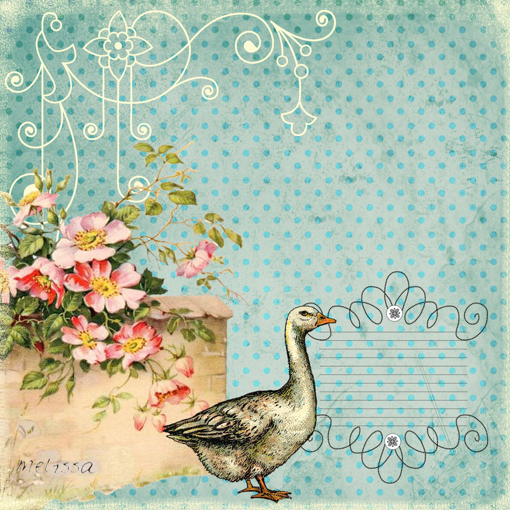 Vintage Goose 18