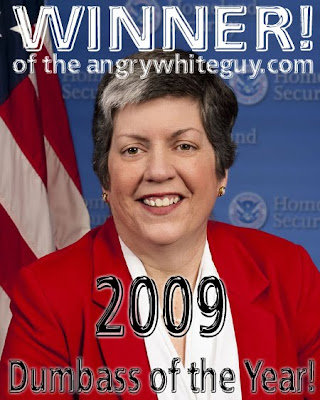 2009 Dumbass of the Year -- Janet Napolitano