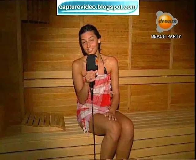 seda akman sauna video