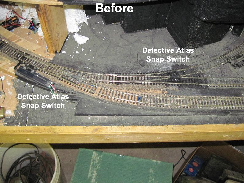 wiring atlas turnouts my model railroad: march 2010 atlas ho track wiring