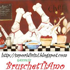 Bruschetta peperoni scamorza e salame vickyart arte in cucina