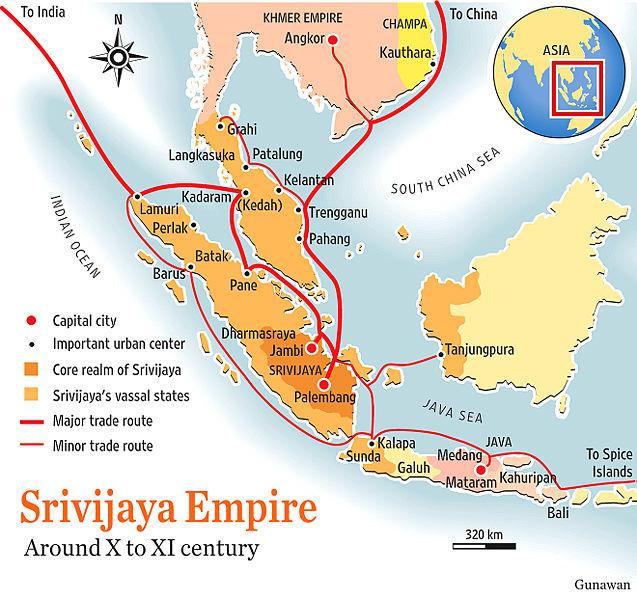 Emas, Damar, dan Rotan Banyak Dihasilkan Kerajaan Sriwijaya