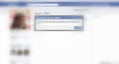 Aviso Facebook Conoces Personalmente
