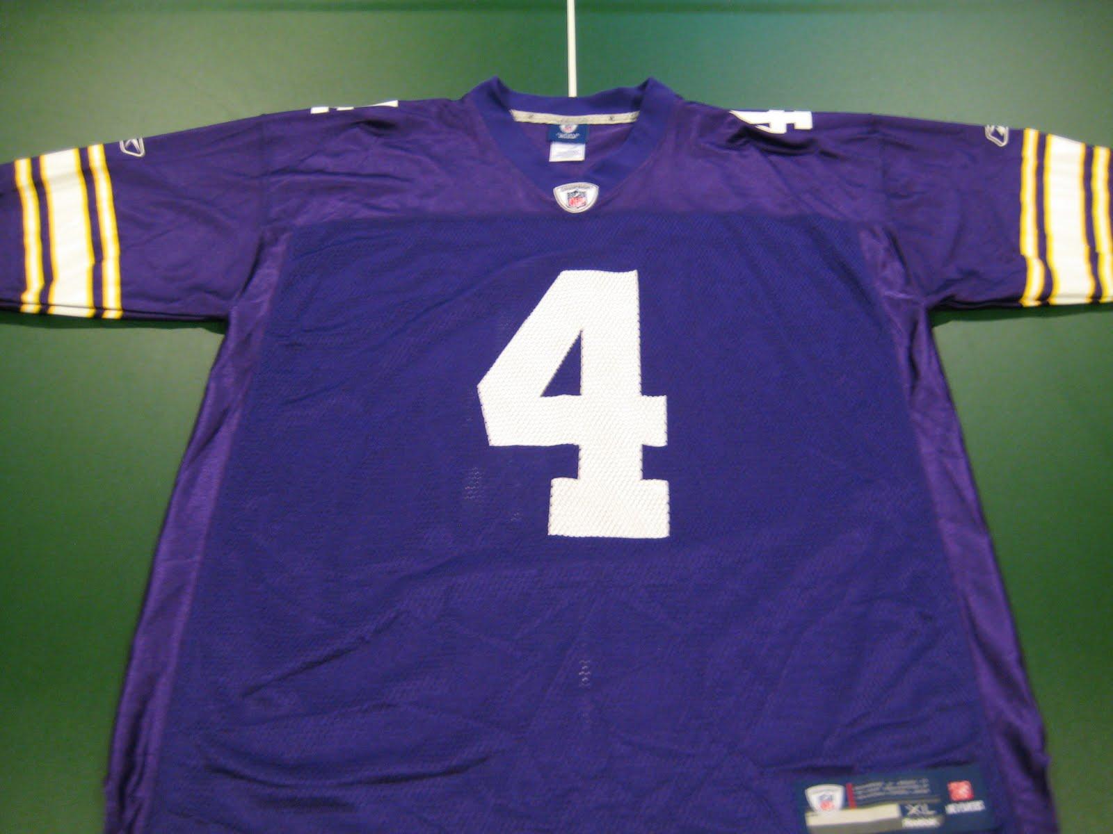finest selection 528a7 bda9b Bmac's Jerseys: Brett Favre Replica Alternate/Throwback Jersey