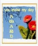You Make The Day Award By