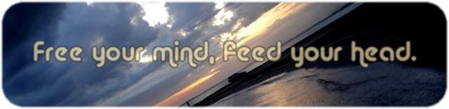 Liberte sua mente, alimente sua cabeça.