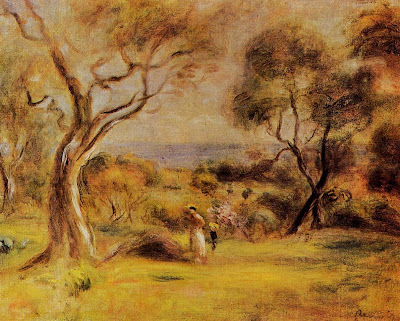 Renoir, a walk by the sea
