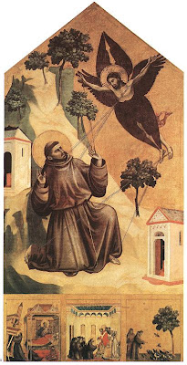 Giotto,Stigmatization of St Francis
