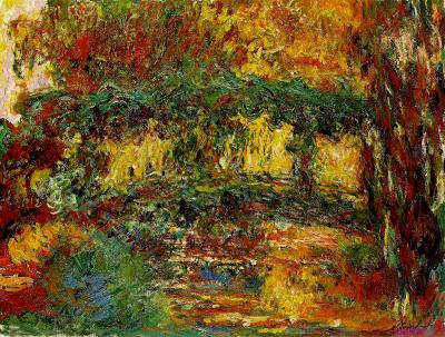Monet, The Japanese Bridge