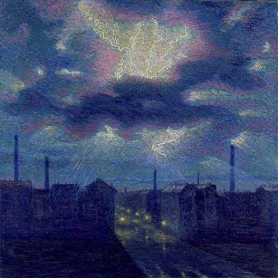 Luigi Russolo (1885-1947), 'Lightning', 1909-10