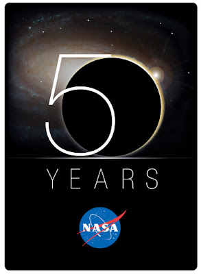 Logo per i 50 anni della NASA