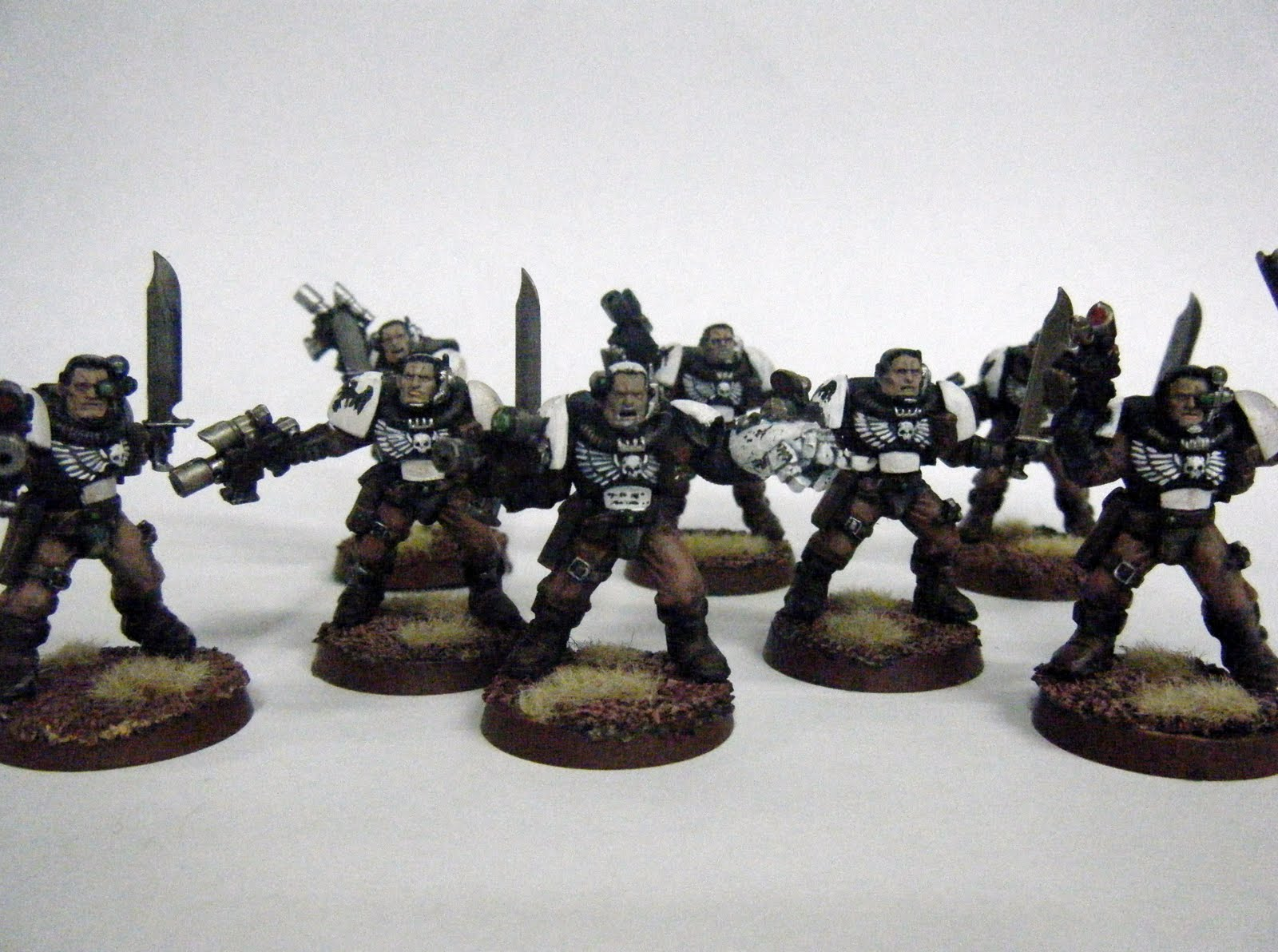 Smells Like Wargaming Finished Raven Guard Scouts And Psyker