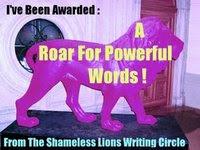 Shameless Lions Award